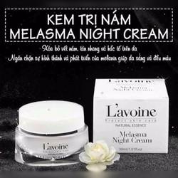 Kem trị nám, tàn nhang chuyên sâu Melasma Night Cream 30ml