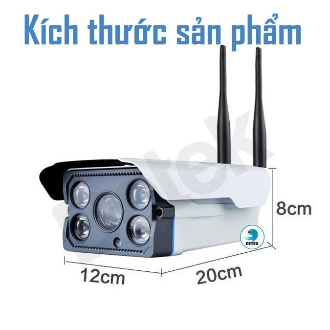 Camera IP Camhi Z300 ngoài trời chống nước hồng ngoại 6