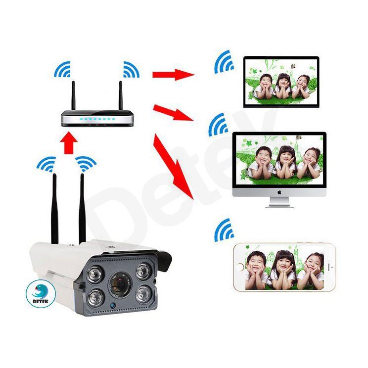 Camera IP Camhi Z300 ngoài trời chống nước hồng ngoại 8