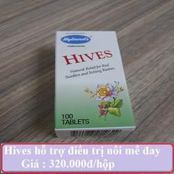 Hives Hỗ Trợ Trị Nổi Mề Đay