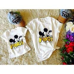 Set áo thun cho mẹ và bé