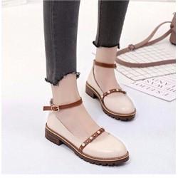 giày sandan bít đế nữ cực đẹp