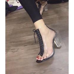giày cao got trong nữ phối dây cực đẹp