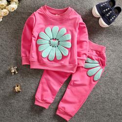 Bộ quần áo thu đông cho bé gái