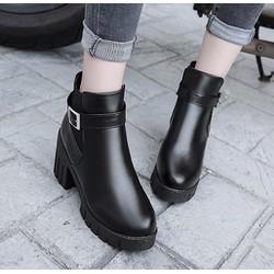 Giày Boot nữ thời trang B095D