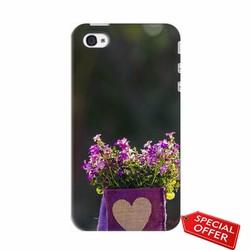 Ốp lưng Iphone 4_Giỏ Hoa Tình Yêu