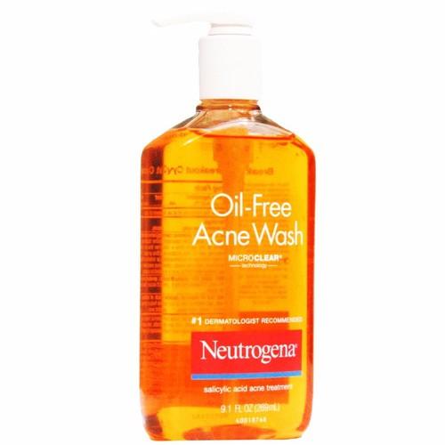 Sữa Rửa Mặt Trị Mụn Neutrogena Oil Free 177ml