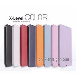Bao Da Sony Xperia M5 hiệu X-Level HongKong cao cấp