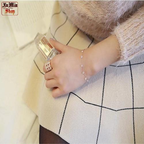Lắc tay gắn hạt đá - XMB09