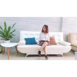 Bộ sofa giường sang trọng, thiết kế tinh tế