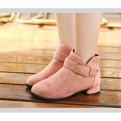 B07H  -  Giày boot cho bé phong cách hàn quốc