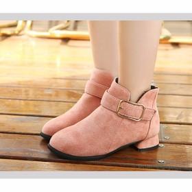 Giày boot cao cấp cho bé phong cách hàn quốc - B07H - B07H