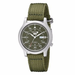 Đồng hồ Seiko 5 Automatic Green Canvas