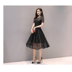 Đầm ren xòe cao cấp dự tiệc cao cấp, đầm nữ, đầm đẹp, đầm chuẩn