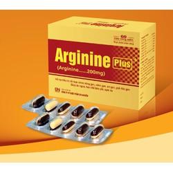TPCN Arginine Plus 60 viên - Viêm gan, xơ gan, giảm béo