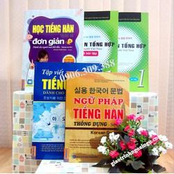 Sách học tiếng Hàn cho người mới bắt đầu - Trọn bộ 5 cuốn