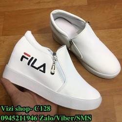 C128 Giày Sneaker Thể Thao Khóa Hông