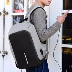 Balo lô chống trộm loại 1- có cổng usb sạc điện thoại -giá tốt nhất