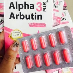 Viên bột kích trắng da Alpha Arbutin