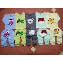 Set 5 bộ đồ hình thú dành cho bé trai bé gái