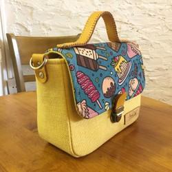 Túi đeo chéo Satchel mini handmade