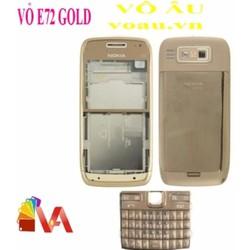 VỎ NOKIA E72 GOLD