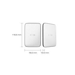 Ổ Cứng Di Động  HDD hiệu Silicon 1TB, Diamond D20,màu trắng