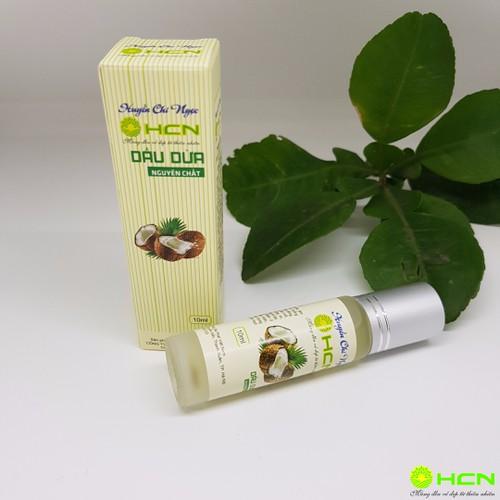 Dầu dừa nguyên chất 10ml Huyền Chi Ngọc
