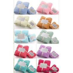 Set khăn tắm và khăn mặt hàng xuất Nhật