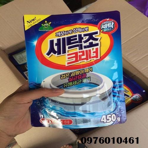 Bột vệ sinh máy giặt Hàn Quốc - 10488844 , 7654524 , 15_7654524 , 26000 , Bot-ve-sinh-may-giat-Han-Quoc-15_7654524 , sendo.vn , Bột vệ sinh máy giặt Hàn Quốc