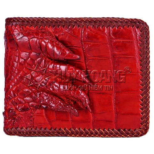 Bóp da cá sấu Huy Hoàng đan viền gù chân màu nâu đỏ SH8172 - 10488831 , 7654459 , 15_7654459 , 2099000 , Bop-da-ca-sau-Huy-Hoang-dan-vien-gu-chan-mau-nau-do-SH8172-15_7654459 , sendo.vn , Bóp da cá sấu Huy Hoàng đan viền gù chân màu nâu đỏ SH8172
