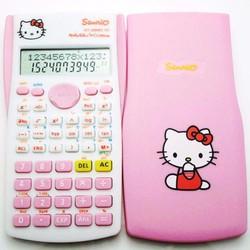 Máy tính Doraemon Hello Kitty dễ thương