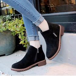 Giày Boot nữ thời trang B096D