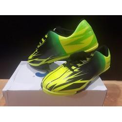 giày đá bóng sân cỏ nhân tạo Ebet chính hãng - Đen xanh lá
