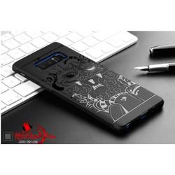 Ốp lưng Samsung Galaxy Note 8 chống sốc hoa văn