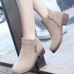 Giày Boot nữ thời trang B096N