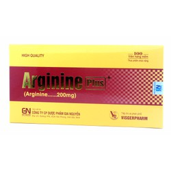 TPCN Arginine Plus 100 viên - Viêm gan, xơ gan, giảm béo