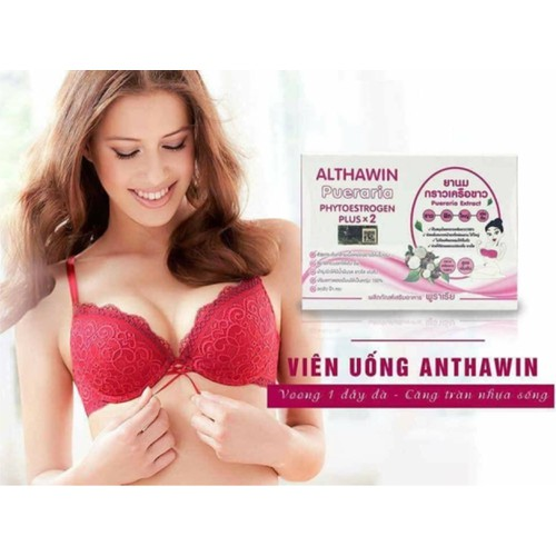 Nở ngực trắng da ALTHAWIN Pueraria Extract