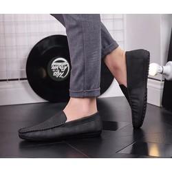Giày lười nam da lộn GL106 lịch lãm sang trọng