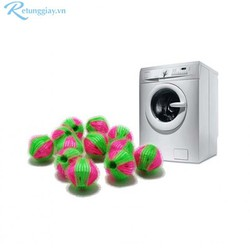 Bộ 12 banh giặt bẫy tóc Tashuan