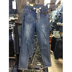 jeans lưng thun xk from ôm nhẹ