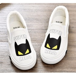 Giày lười vải mẫu hoạt hình ngộ nghĩnh - Chính hãng Bu Ding