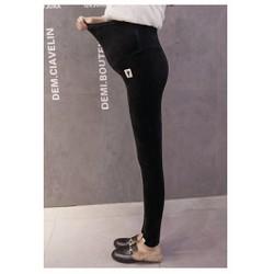 Quần legging bầu - Loại cao cấp bên trong có lớp nhung chống lạnh