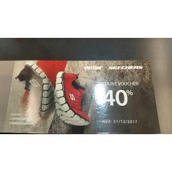 Voucher Skechers giảm 40