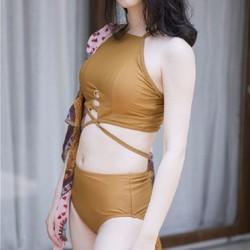 Bikini bơi kèm khăn choàng_M76113