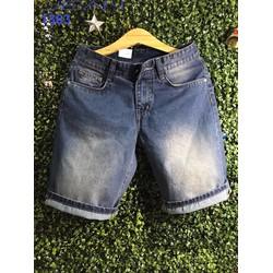 Quần short nam jeans trơn cao cấp