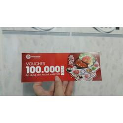 Voucher Kichi Kichi - lẩu băng chuyền trị giá 100k