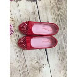 giày búp bê đính cườm đế 2cm size 25-29