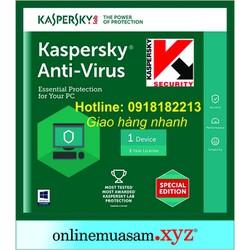 Phần mềm  Antivirus 1 máy tính
