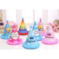 Mũ sinh nhật quả bông
